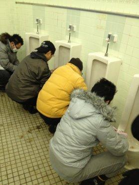 超実践集団『便所掃除ジャー』東京支部
